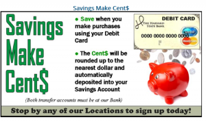 Savings Make Cents